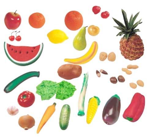Hortalizas, frutas y frutos secos