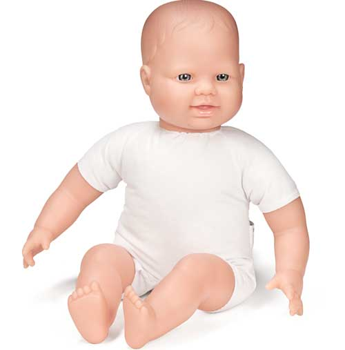 Muñeco europeo blando 40 cm