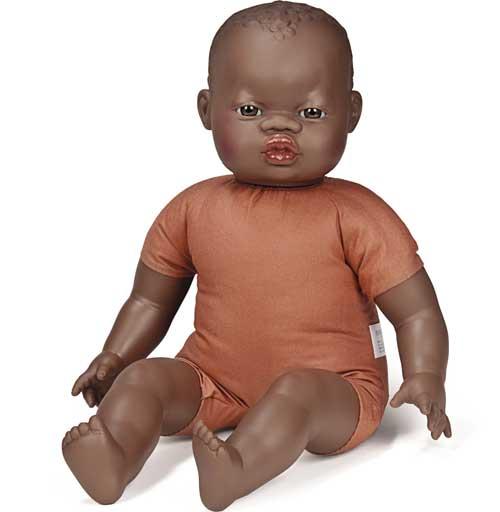 Muñeco africano blando 40 cm