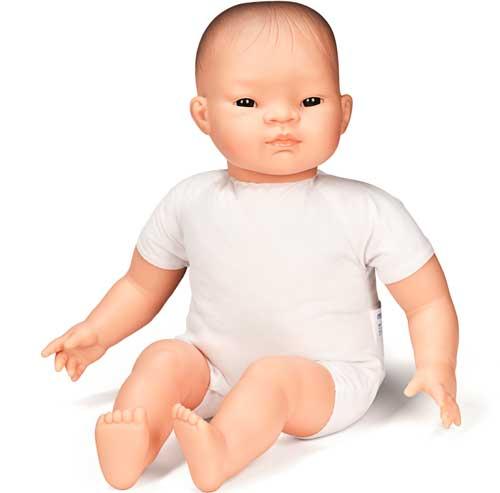 Muñeco asiático blando 40 cm