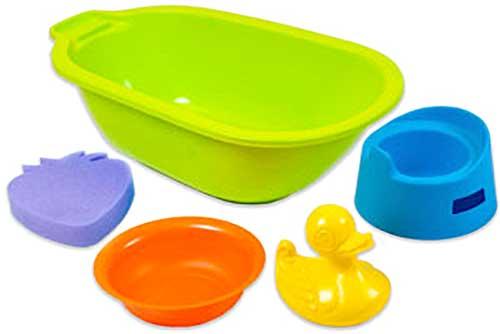 Bañera con accesorios detalle 2