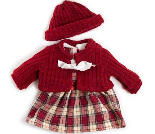 Conjunto invierno falda 40 cm