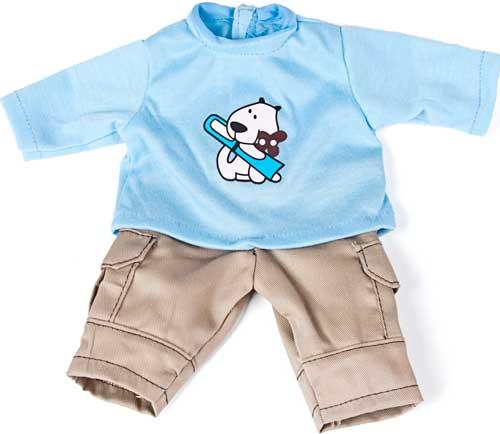 Conjunto sudadera pantalón 32 cm