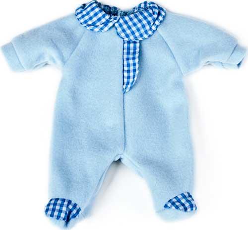 Pijama azul 32 cm detalle 1