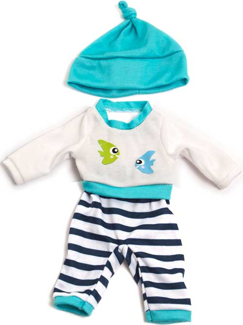 Pijama invierno con gorro 32 cm