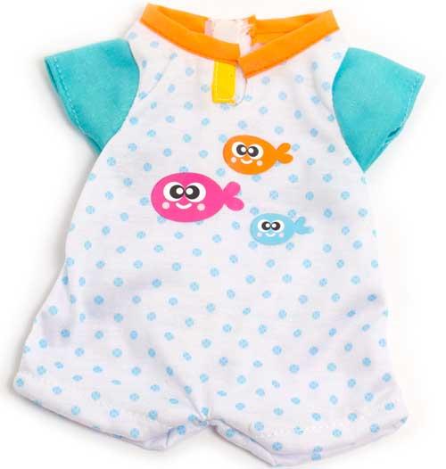 Pijama verano peces 32 cm
