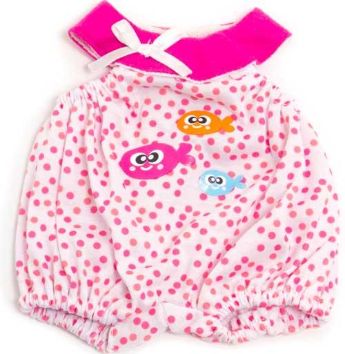 Pijama verano peces y puntos 32 cm