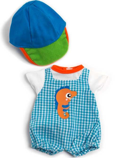 Conjunto verano con gorra 32 cm
