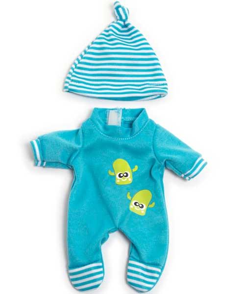Pijama invierno azul 21 cm