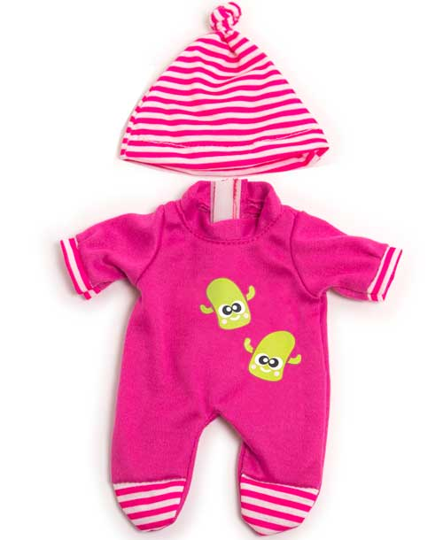 Pijama invierno rosa 21 cm