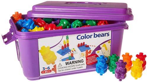 Color bears detalle de la caja