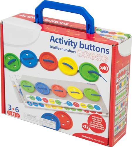 Botones ensartables, caja 40 ud detalle 4