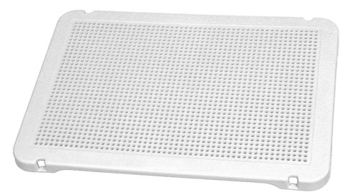 Placa de mosaicos blanca 30x21 cm
