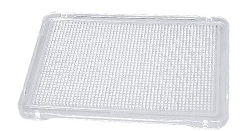 Placa de mosaicos transparente