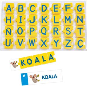 Autodictado alfabeto con actividades