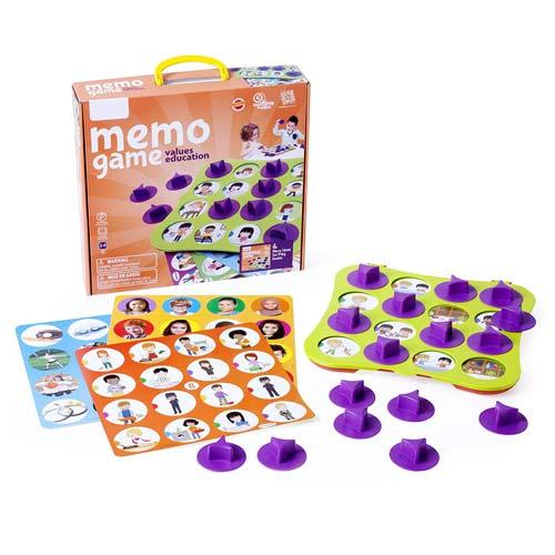 Memo Game: Educación en Valores