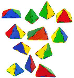 Construccion conexion pirámides