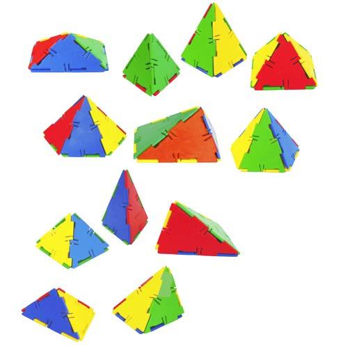Constr. Conexion Pirámides 53 pz