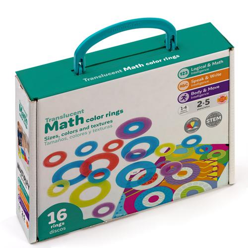 Arso matemáticas translúcidos de colores detalle 2