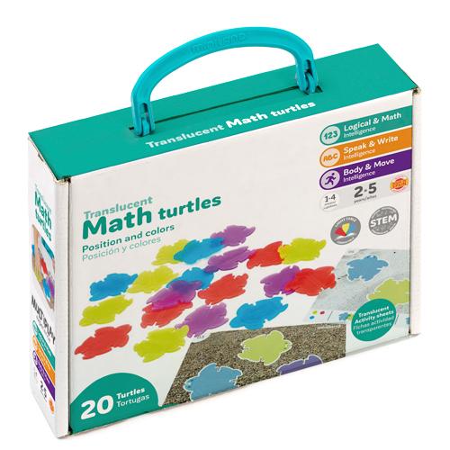 Tortugas matemáticas translúcidas