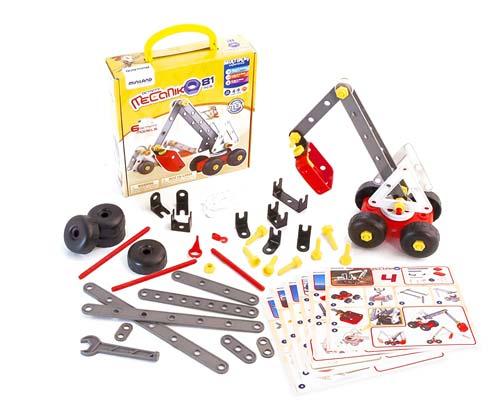 Mecaniko plástico mecano 81 piezas