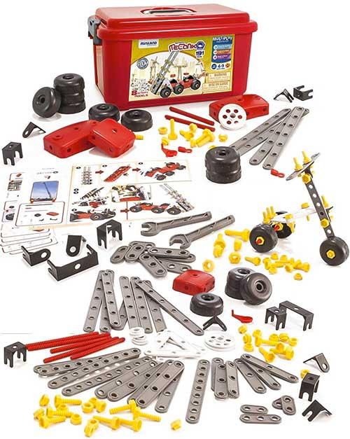 Mecaniko plástico mecano 191 piezas
