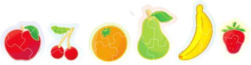 Puzzle Flexi Form Frutas detalle 4
