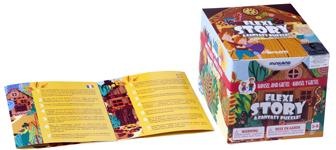 Caja y folleto La casita de Chocolate