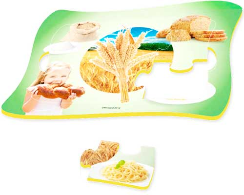 Frame Puzzle Nutrición 4 ud de 6 pz detalle 2