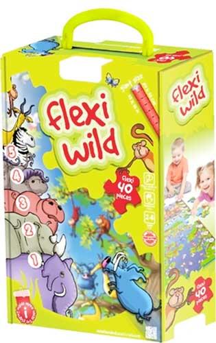 Flexi Wild Maxipuzzle detalle de la caja