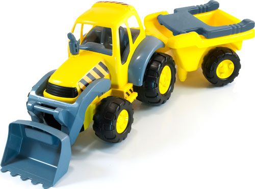 Super Tractor con Remolque