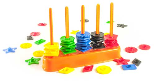 Abacolor Shapes 50 piezas