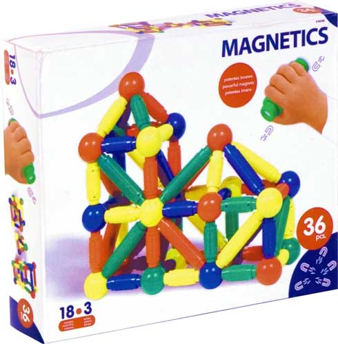 Magnetic detalle de la caja