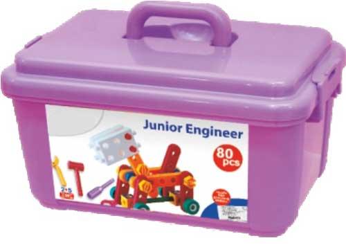 Mecano Junior Engineer detalle de la caja