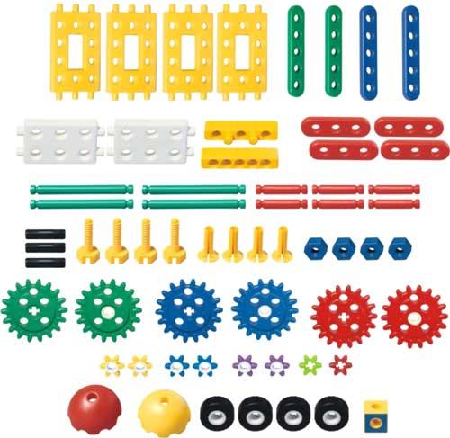Junior Engineer Gears detalle de las piezas