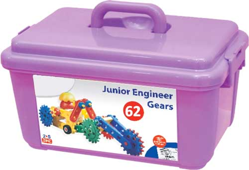 Junior Engineer Gears detalle de la caja