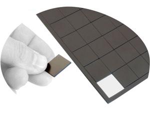 Imanes adhesivos 2x2 cm