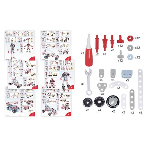 Mecatech maletín 106 piezas detalle 9