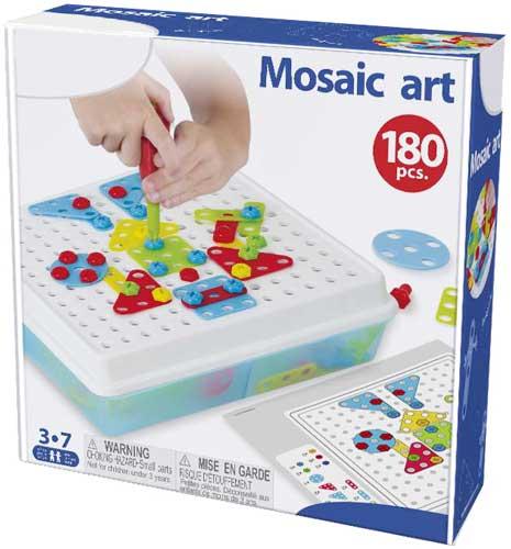 Mosaic Art 2 dimensiones detalle de la caja