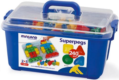 Pinchos superpegs contenedor 240 ud. detalle 2