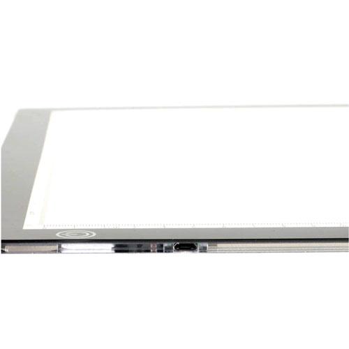 Mesa de luz LightPad A4 detalle 1