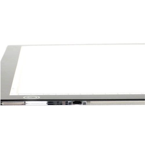 Mesa de luz LightPad A3 detalle 1