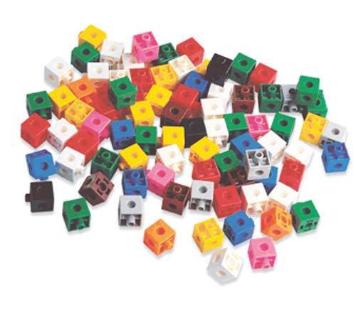 Cubos 2 cm - 100 piezas