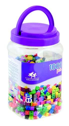 Cubos 1 cm - 1000 piezas detalle 3