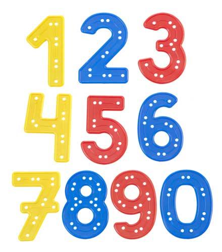 Set números para coser detalle 3