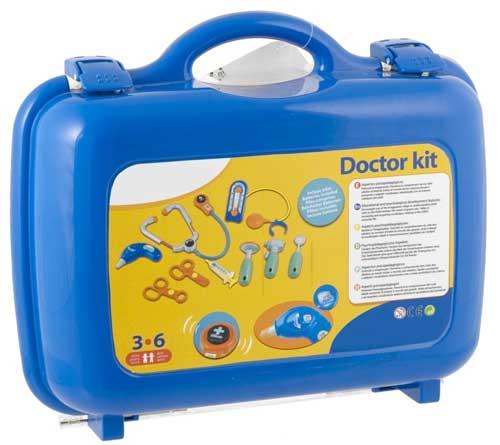 Maletín médico detalle de la caja