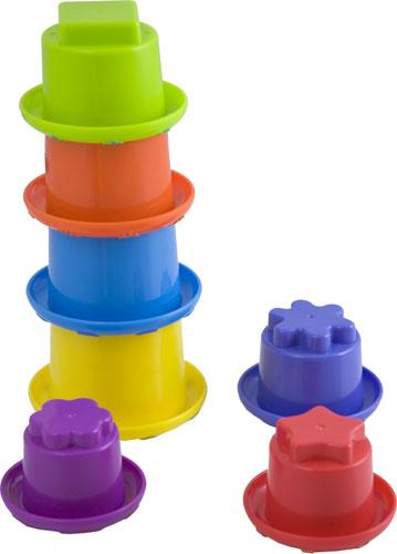 Minicups apilables redondos detalle 4