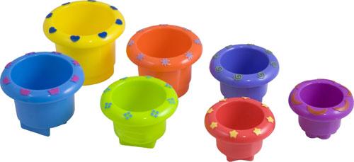 Minicups apilables redondos detalle 5
