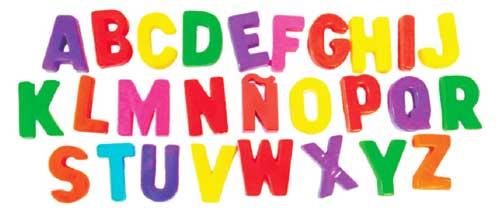 Letras magnéticas mayúsculas 32mm