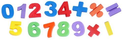 Números magnéticos grandes